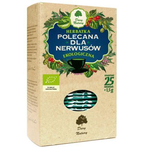 """Dary natury Herbata ziołowa """"dla nerwusów"""", ekspresowa 20x2g"""