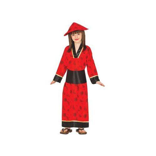 Twojestroje.pl Strój kimono chinka czerwony 95-105 (8434077832806)