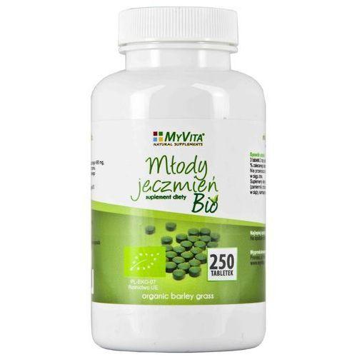 Młody jęczmień 500 mg BIO - 250 tabl (5903111710378) - OKAZJE