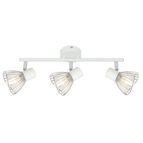 Candellux Fly 93-61973 plafon lampa sufitowa 3x40W E14 biały / chrom