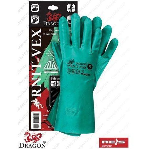 """Rękawice gumowe rnit-vex """"m"""" - """"8"""" marki R.e.i.s."""