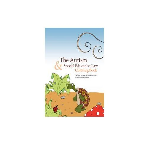 Autism & Special Education Law Coloring Book
