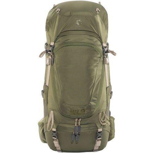 Jack wolfskin highland trail 42 plecak trekkingowy woodland green