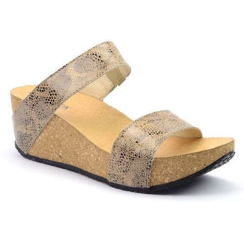 Sandały Lesta 1184 beż, kolor beżowy