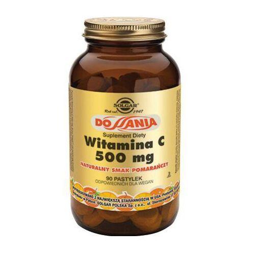 Witamina C 500 mg smak żurawina-malina 90 past