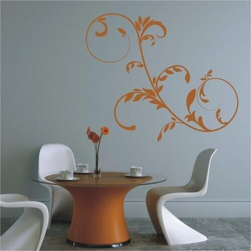 Wally - piękno dekoracji Szablon malarski floral 0794