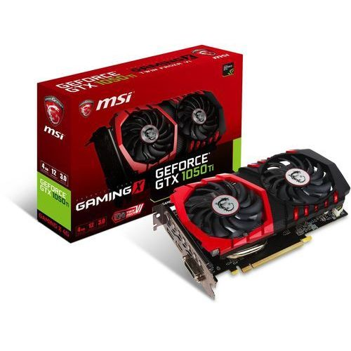 geforce gtx 1050 ti gaming x 4gb marki Msi