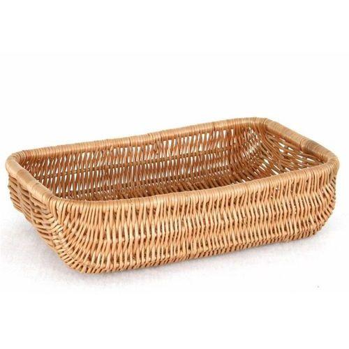 Koszyk na pieczywo wiklinowy prostokątny holender marki Tom-gast