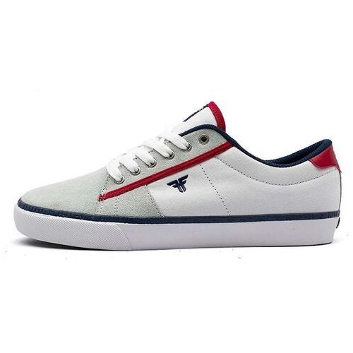 buty FALLEN - Bomber White/Red/Blue/Black (WHITE-RED-BLUE-BLACK) rozmiar: 40, kolor niebieski