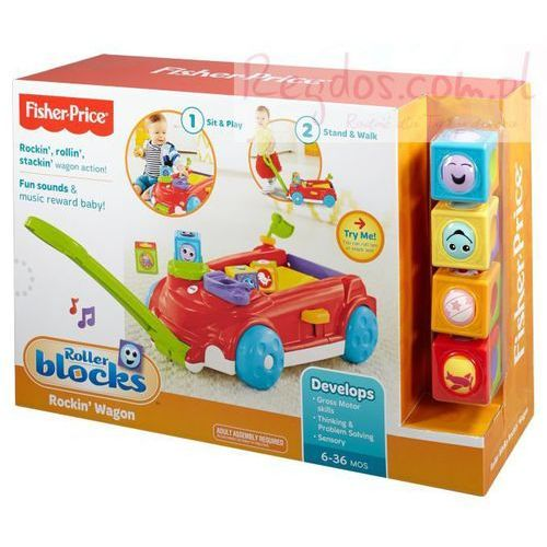 Fisher Price  Ruchome Klocki CBL33/CBL32, klocki dla dzieci