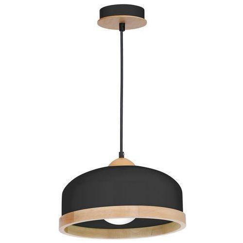 Lampa wisząca Luminex Studio 8851 lampa sufitowa żyrandol 1x60W E27 brązowa / czarna, 8851