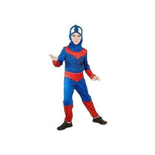 Kostium dziecięcy bohater z pajęczyną - spiderman - m - 121/130 cm marki Go