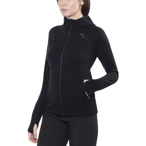 merino kurtka kobiety czarny xl 2018 kurtki wełniane marki Lundhags