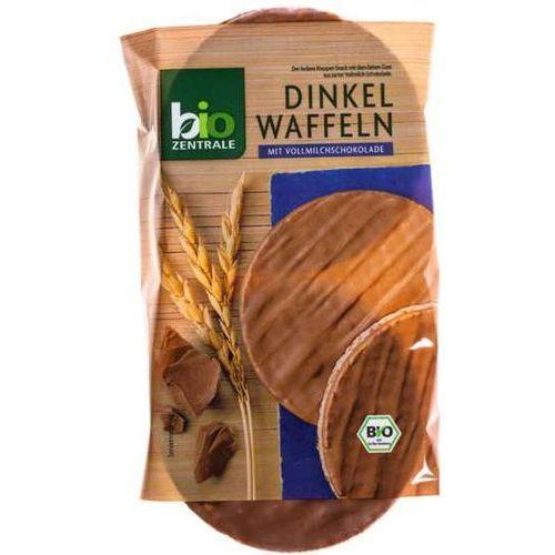 111bio zentrale Wafle orkiszowe w mlecznej czekoladzie b/g 100g - bio zentrale eko
