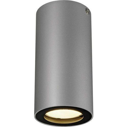 Slv Lampa sufitowa 151814, gu10, (Øxw) 6.7 cmx14 cm, szary, czarny