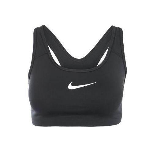 biustonosz sportowy 'pro classic swoosh' czarny / biały marki Nike