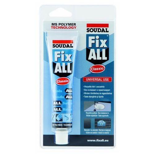 Soudal klej uszczelniacz fix all classic 80 ml- biały (5411183029040)