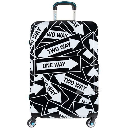 Bg berlin urbe duża walizka na 4 kółkach / 78 cm / allways - czarny