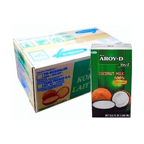Mleko kokosowe w kartonie 12 szt. x 1l - marki Aroy-d