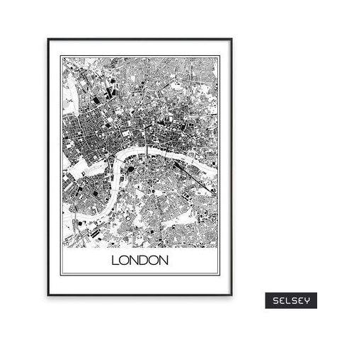 SELSEY Plakat Filippa 50x70 cm z wyborem ramy