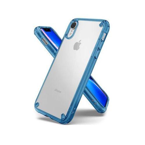 Rearth Etui ringke fusion do apple iphone xr aqua blue - niebieski
