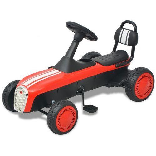 vidaXL Gokart dla dzieci, stylizowany, czerwony (8718476017256)