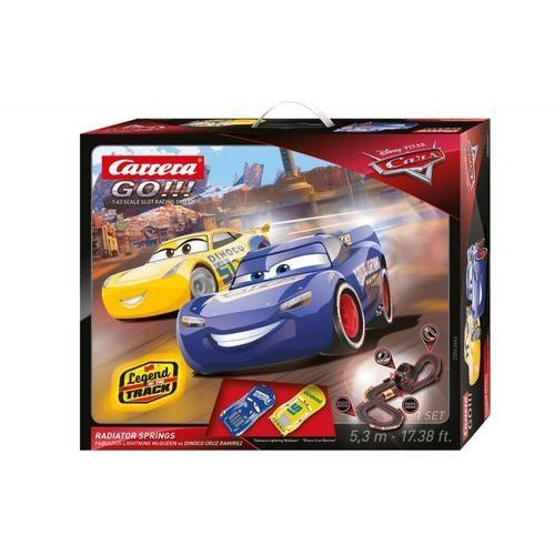 Carrera GO!!! Tor wyścigowy Disney/Pixar Cars 3 - Chłodnica Górska (4007486624467)