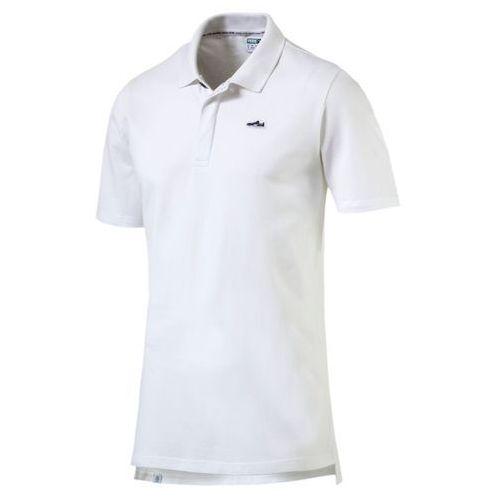 Męska koszulka polo suede 57269702 marki Puma