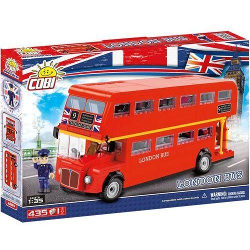 Action Town 435 elementów London Bus, autobus dwupiętrowy - Cobi Klocki