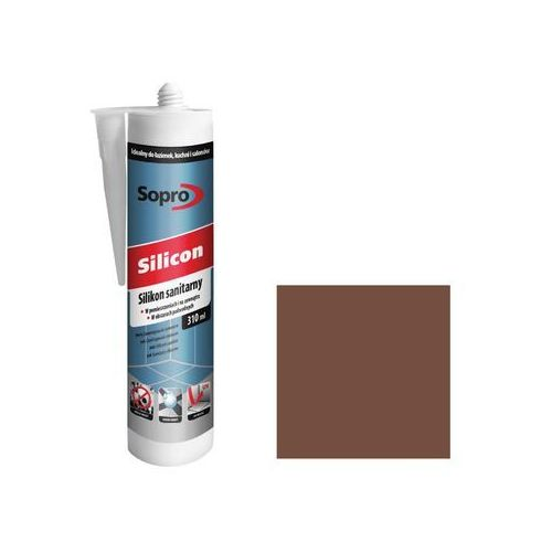 Silikon sanitarny Sopro 310 ml kasztan (4005734883710)