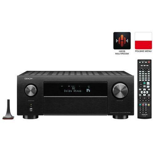 Denon AVC-X4700H Amplituner Kina Domowego 8K 11.2 Alexa, WiFi, AirPlay, HEOS