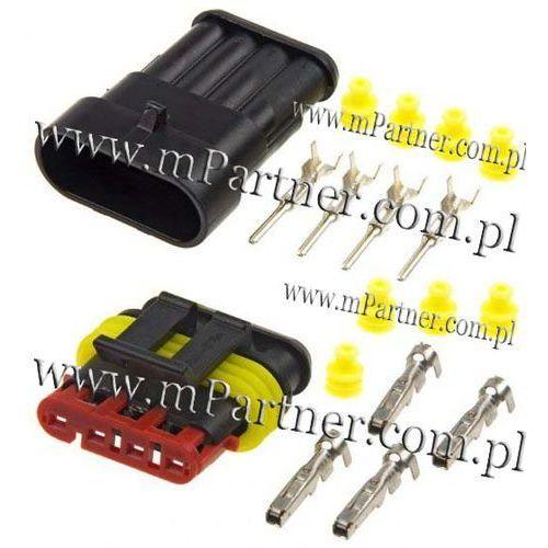 Złącze Hermetyczne 4 PIN Superseal 1,5