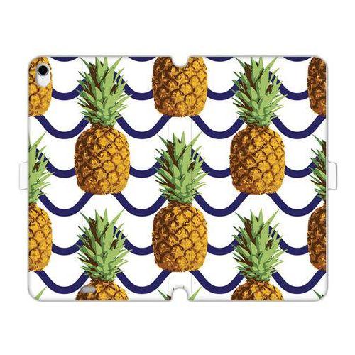 Apple iPad Pro 11 - etui na tablet Wallet Book Fantastic - ananasy