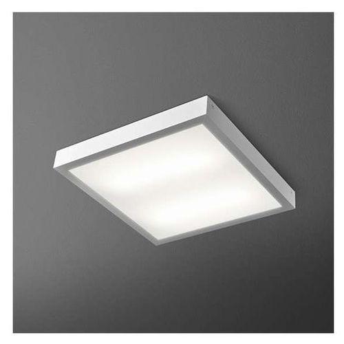 Aquaform Lampa sufitowa blos fluo 44283ev-k  metalowa oprawa natynkowa kwadratowa, kategoria: lampy sufitowe
