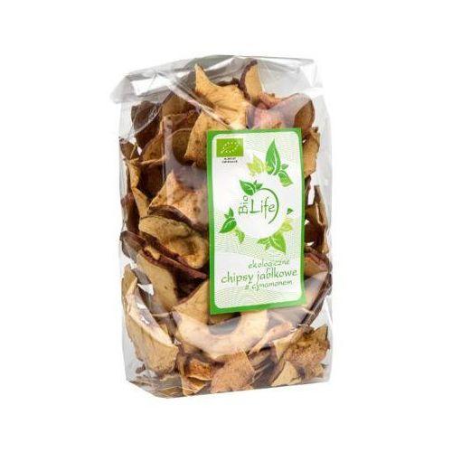 BIOLIFE 100g Chipsy jabłkowe z cynamonem Bio