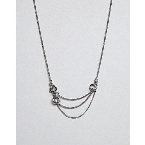 lock necklace - silver marki Cheap monday