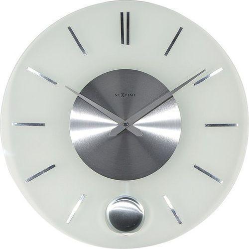 Zegar ścienny Stripe Pendulum okrągły, 3145