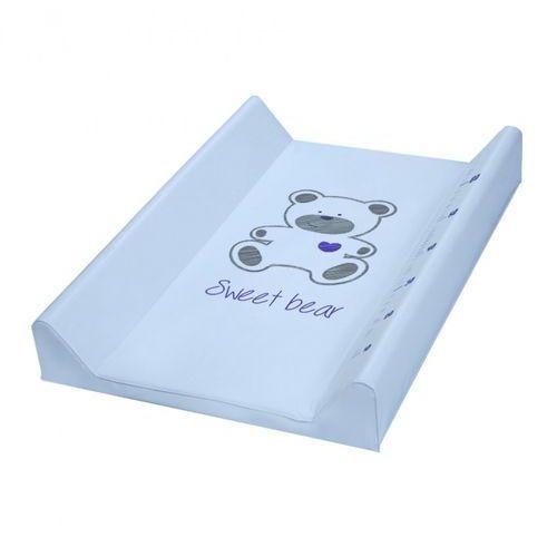 Nadstawka twarda przewijak na łóżeczko - sweet bear niebieski marki Klupś