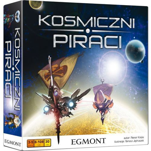 Egmont, gra rodzinna Kosmiczni piraci