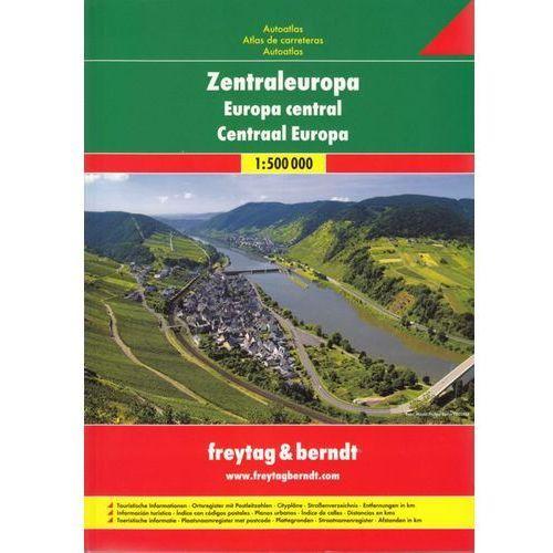 Europa środkowa 1:500 000. Atlas samochodowy Europy Środkowej. Freytag & Berndt (2011)