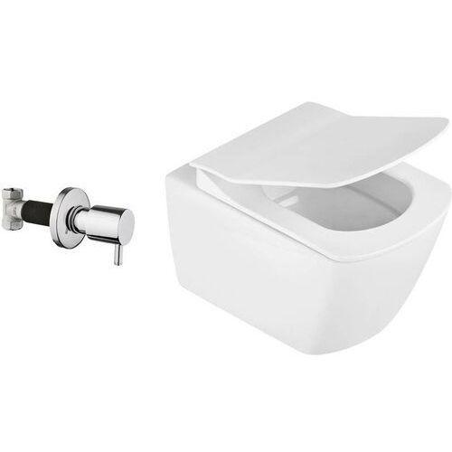 Deante Anemon Zero Miska WC z funkcją bidetu z zaworem podtynkowym