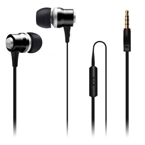Connect IT Słuchawki EP-222-BK, czarny (CI-1040) - BEZPŁATNY ODBIÓR: WROCŁAW!