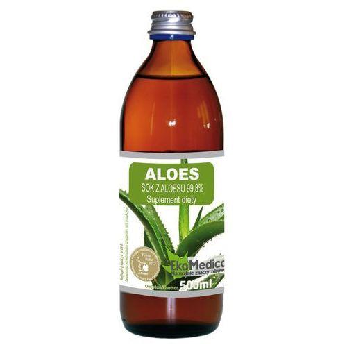 Ekamedica Aloes sok 99,8% (500 ml) ekomedica (5902596671037)