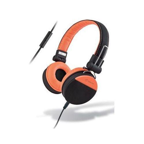 Słuchawki nauszne MELICONI Cuffia Speak Style Czarno-pomarańczowy