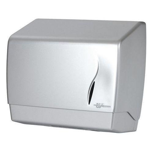 Pojemnik na papier w listkach Masterline srebrny mat