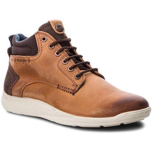 Trzewiki WRANGLER - Moose Mid WM182150 Rust 69, kolor brązowy