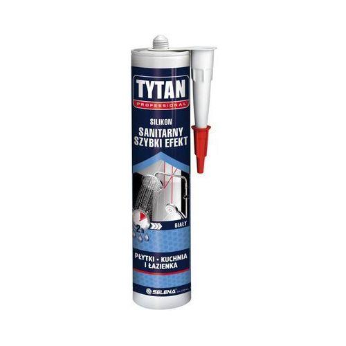 Silikon sanitarny szybki efekt 280 ml biały marki Tytan