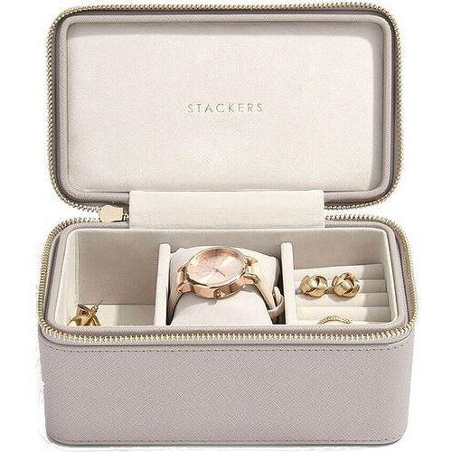 Stackers Pudełko podróżne na biżuterię i zegarek taupe