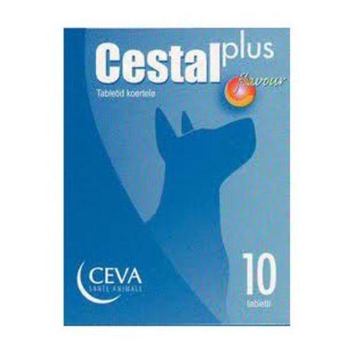 CESTAL Plus Flavour tabletki na odrobaczenie dla psów, 10szt./200szt.