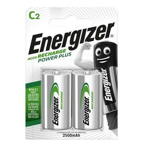 Akumulator ENERGIZER Power + C HR14 2500mAh op.2, EN-138740